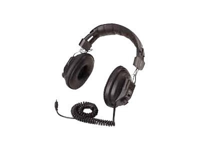Ergoguys Califone 3068AV Switchable Stereo-Mono Headphones, 3068A-V, 6365852, Headphones