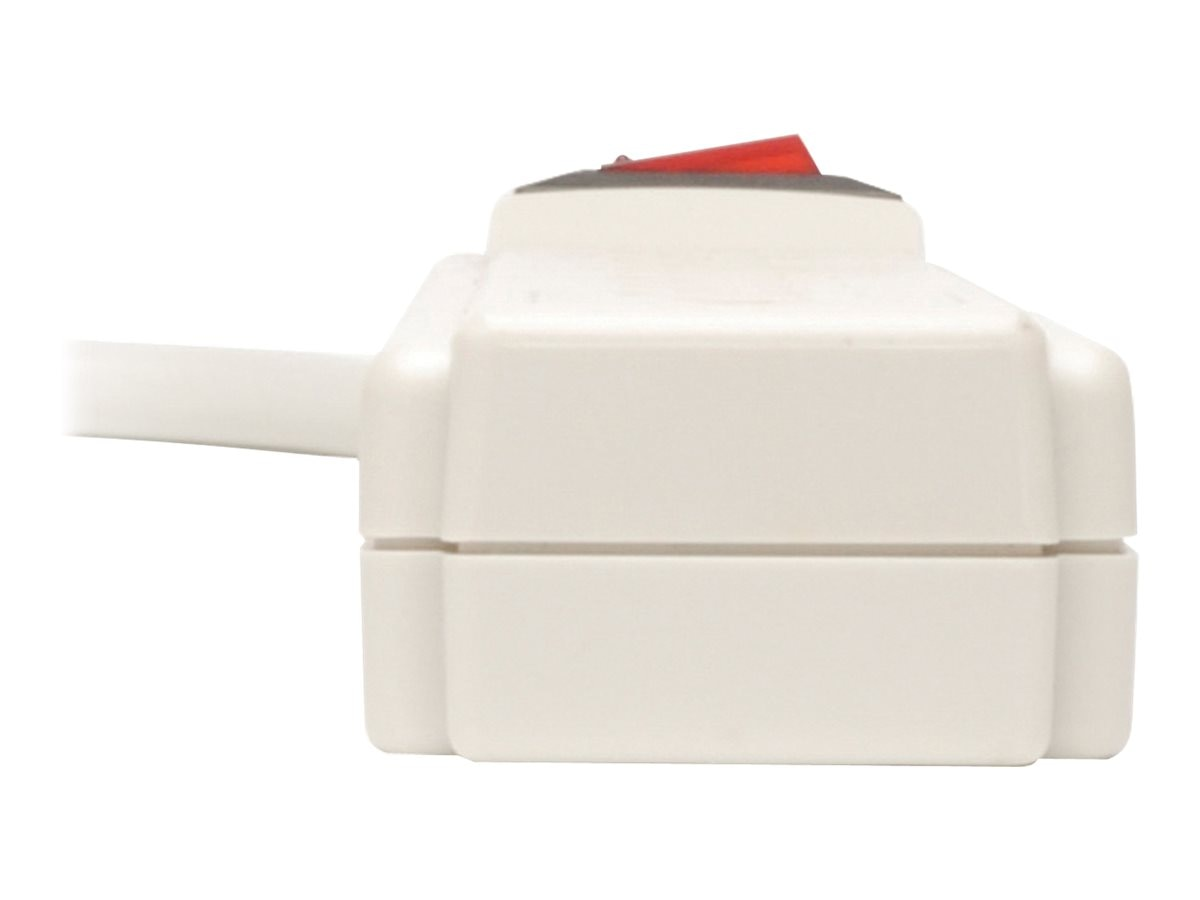 Tripp Lite Protect It! Surge (6) Outlet (Up to 4 Transformers) 4ft Cord 790 Joules, TLP604