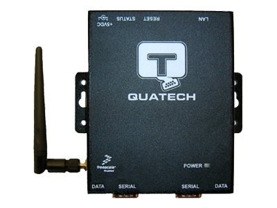 Quatech Wireless Device Server, 2 Port, Surge, DSEW-400D-SS, 7624537, Wireless Adapters & NICs