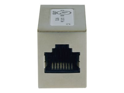 Tripp Lite Cat5e RJ-45 F F Straight Through Modular In-line Coupler, N032-001, 4927920, Cable Accessories