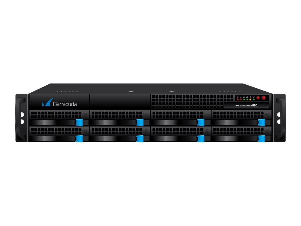 Barracuda Backup Server 890 w 1-year Energize Update