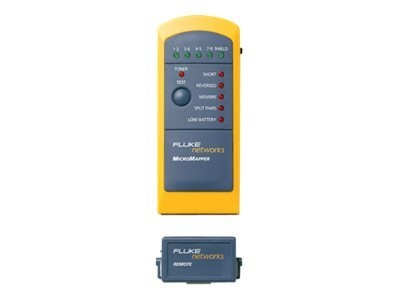 Fluke MicroMapper Twisted Pair Cable Tester, MAP, MT-8200-49A, 5103471, Network Test Equipment