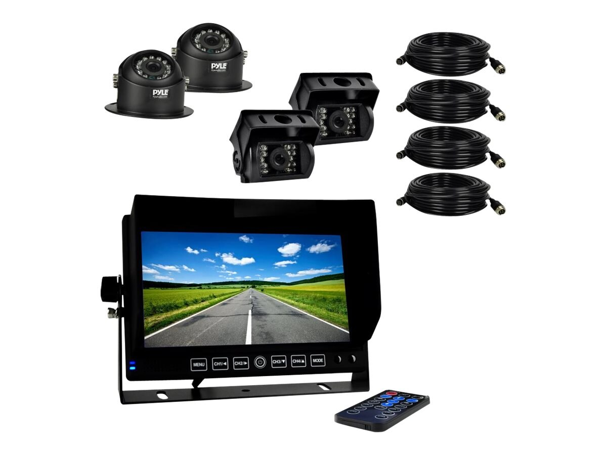 Pyle HD Multi-Camera DVR Video Recording Driving System 7