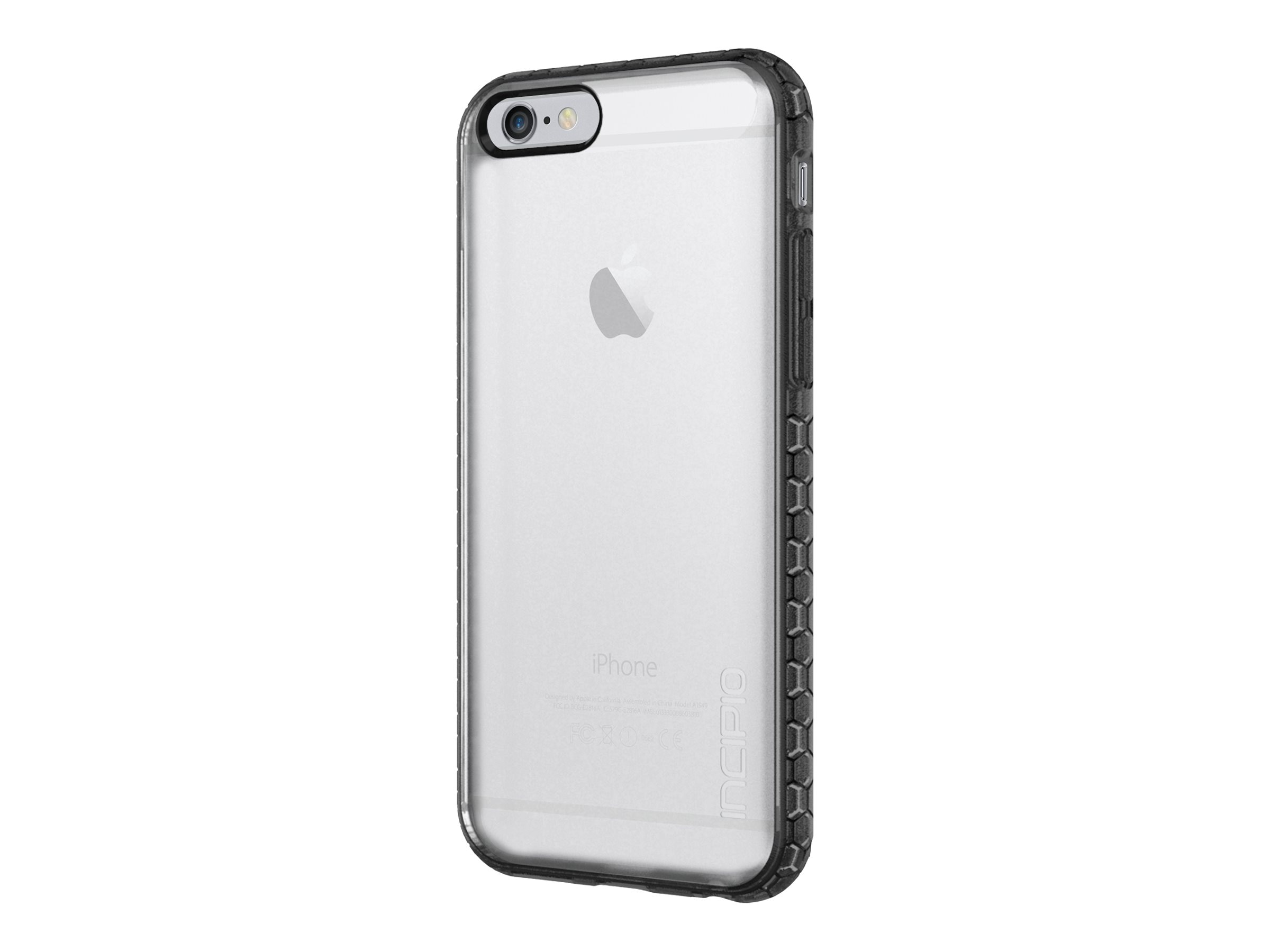 Incipio Octane Co-Molded Impact Absorbing Case for iPhone 6 6s, Frost Black, IPH-1190-FRSTBLK
