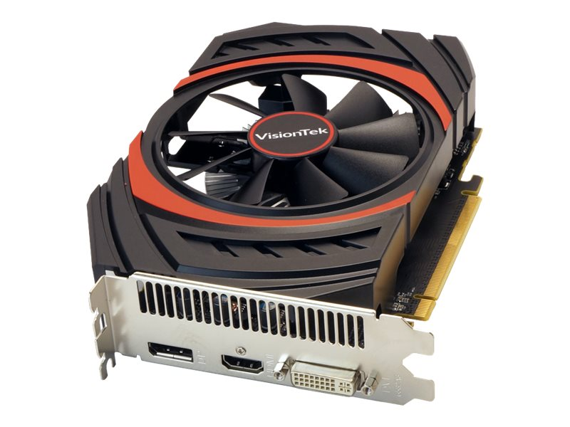 VisionTek Radeon R7 360 PCIe Graphics Card, 2GB GDDR5, 900806