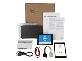 Dell 512GB SATA Solid State Drive Upgrade Kit, SNP971XCK/512G, 32274111, Solid State Drives - Internal