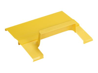 Panduit Spill-Over Junction 4x4 Exit for 12x4 Channel, Yellow, FRSPJC412YL