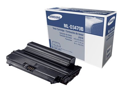 Samsung Black High Yield Toner Cartridge for ML-3470 Series Printers, ML-D3470B