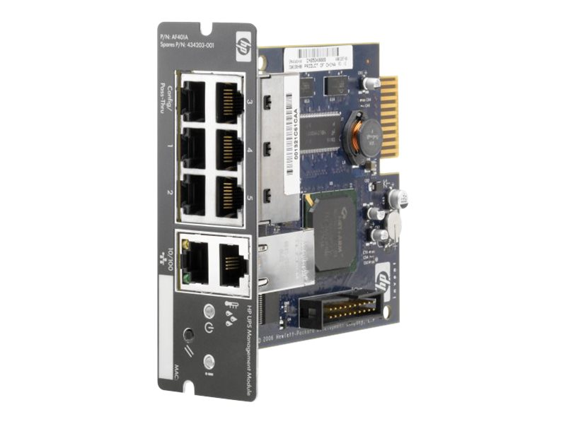 HPE 30A 480V 3-Phase NA R18000 Direct Flow UPS IEC309 Input Output Module, AF487A