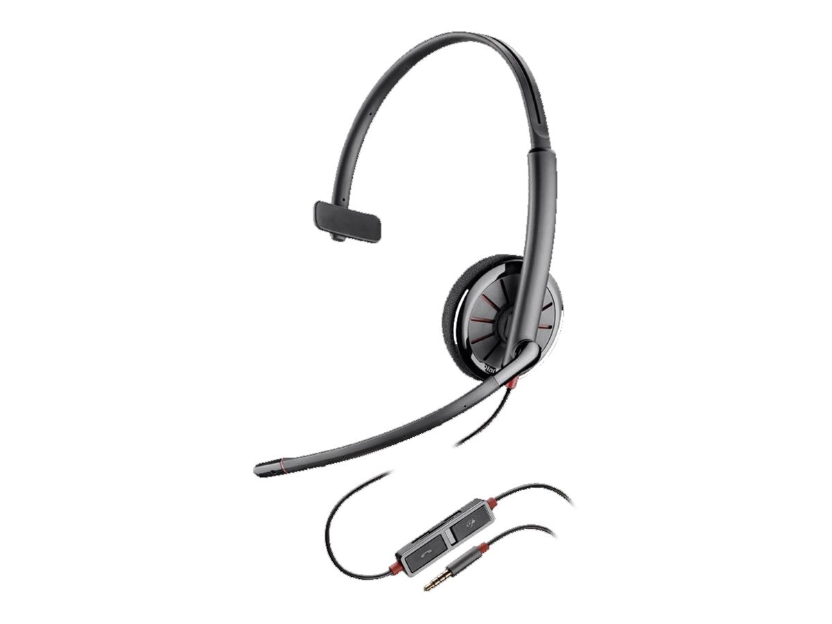 Plantronics Blackwire 215 Mono Headset, 205203-02