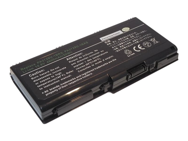 Ereplacements Laptop Battery for Toshiba Satellite, PA3729U-1BRS-ER, 17562528, Batteries - Notebook