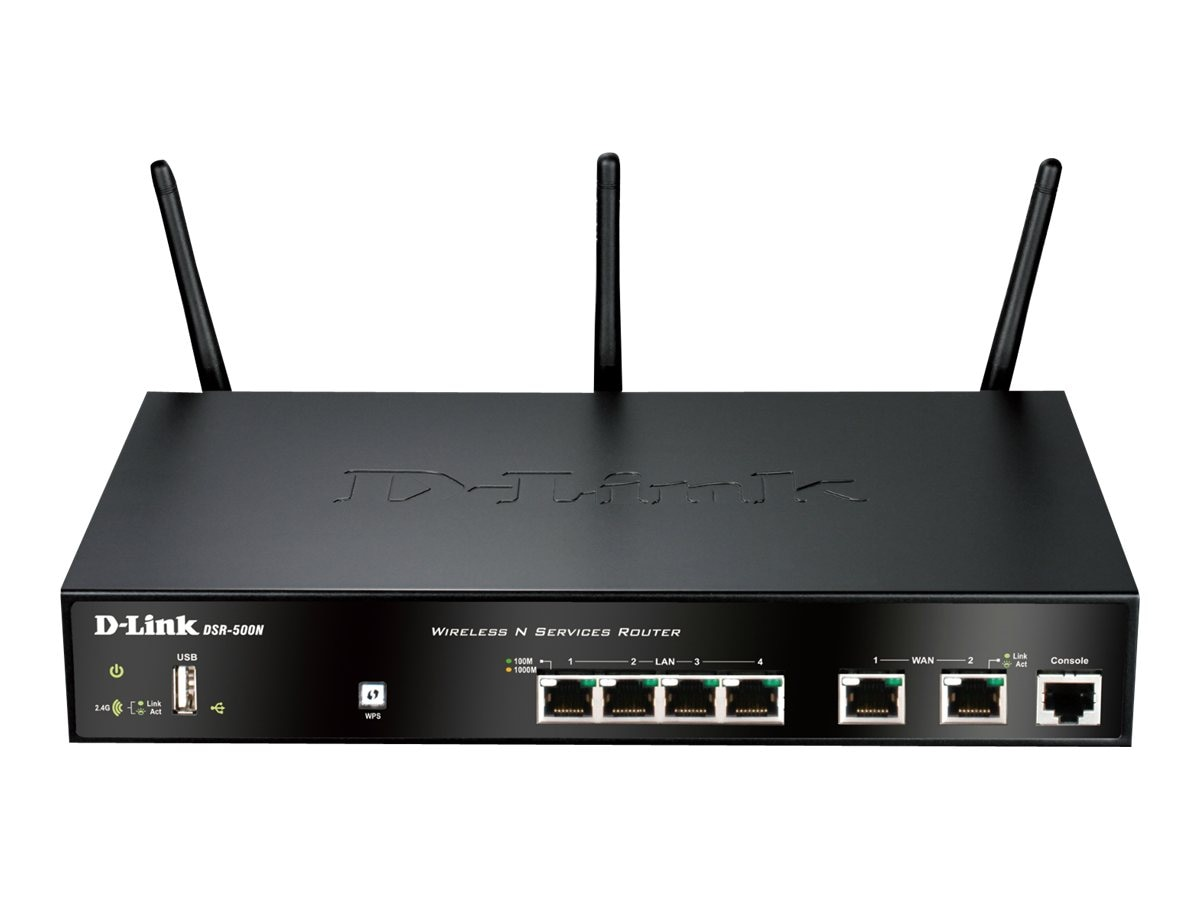 D-Link Wireless N Services Router, DSR-500N, 12224343, Wireless Routers