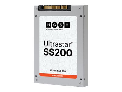 HGST 800GB UltraStar SS200 SAS 12Gb s ISE 3DW D 2.5 Enterprise Solid State Drive, 0TS1380