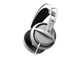 Steelseries Siberia 200 Headset - White, 51132, 30806611, Headsets (w/ microphone)
