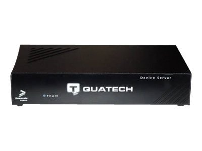 Quatech Device Server, 8 Port, RJ-45, Surge, ESE-100M-SS, 7624377, Remote Access Hardware