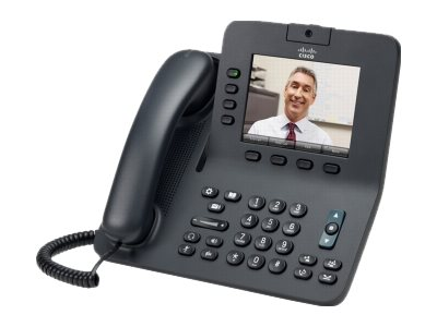Cisco Unified IP Phone 8945, Standard Handset, Gray, CP-8945-K9=, 12678206, VoIP Phones
