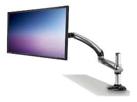 Ergotech Freedom Arm Heavy Duty Articulating LCD Monitor Arm, 30lbs Limit, Silver, FDM-HD-S01, 18924615, Stands & Mounts - AV
