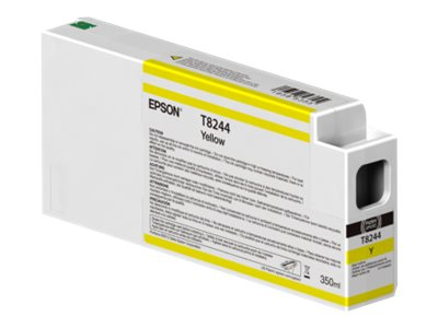 Epson Yellow Ultrachrome HDX 350ml Ink Cartridge for SureColor 6000, 7000, 8000 & 9000 Printer, T824400