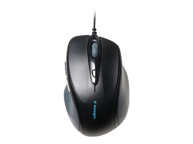 Kensington Pro Fit Wired USB PS 2 Ergonomic Full Size Mouse, K72369US