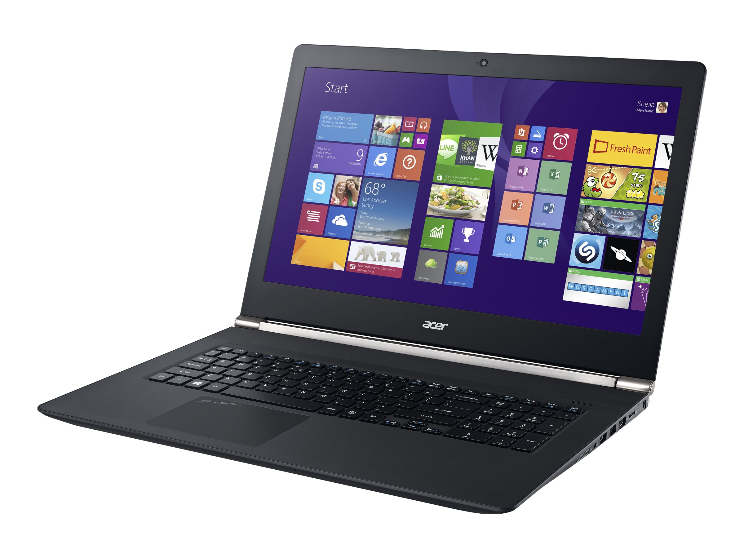 Acer Aspire VN7-591G-72K6 2.6GHz Core i7 15.6in display, NX.MTDAA.004, 18507109, Notebooks