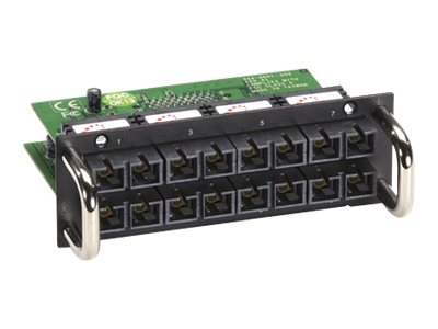 Black Box 8-Port 100Mb s Fiber Module for Modular Managed L2 Switch, Multimode, SC