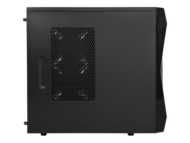 Rosewill Chassis, Challenger-U3 ATX 7x3.5 Bays 3x5.25 Bays 3xFans, Black