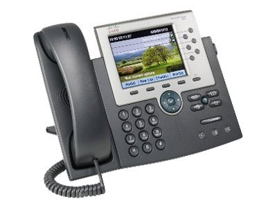 Cisco Unified IP Gigabit SCCP SIP Phone 7965G with 1 User License