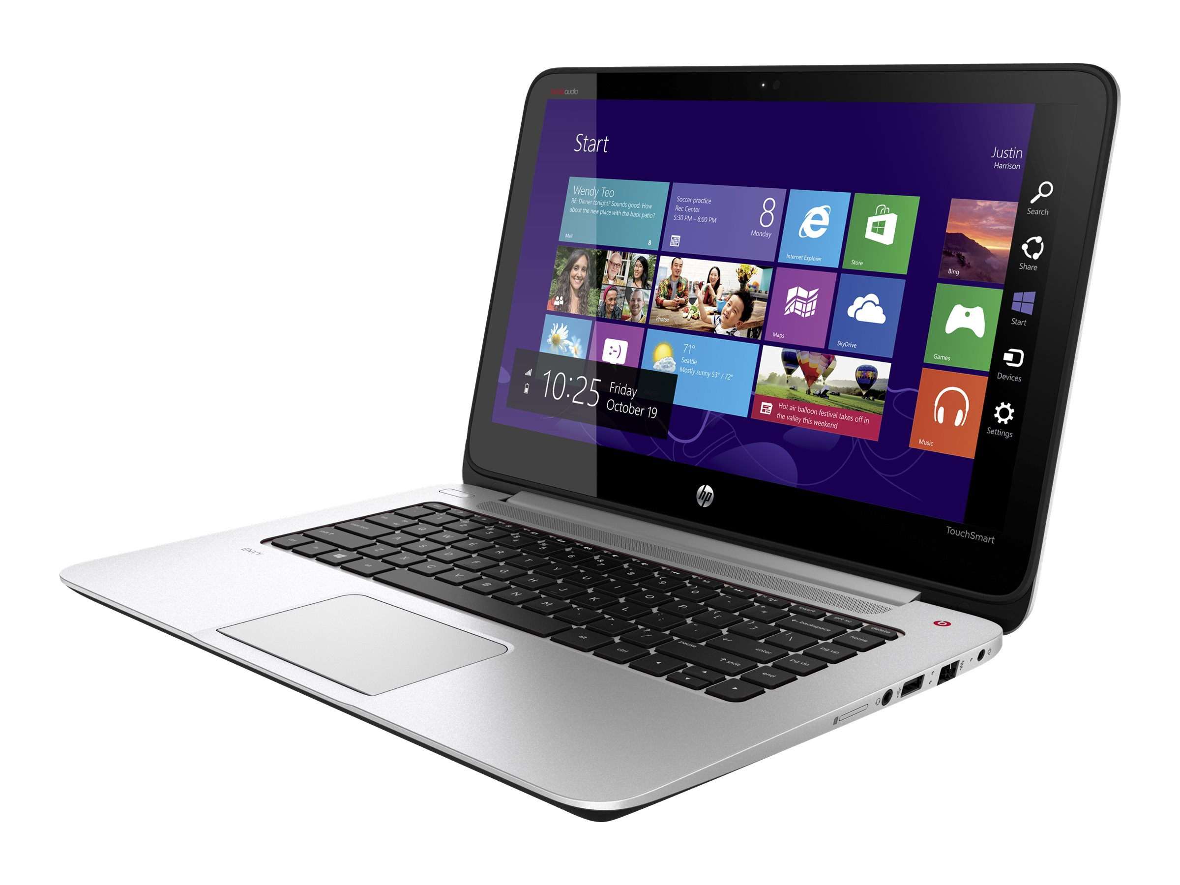HP Notebook PC Core i5-4200U 8GB 750GB 14 W8