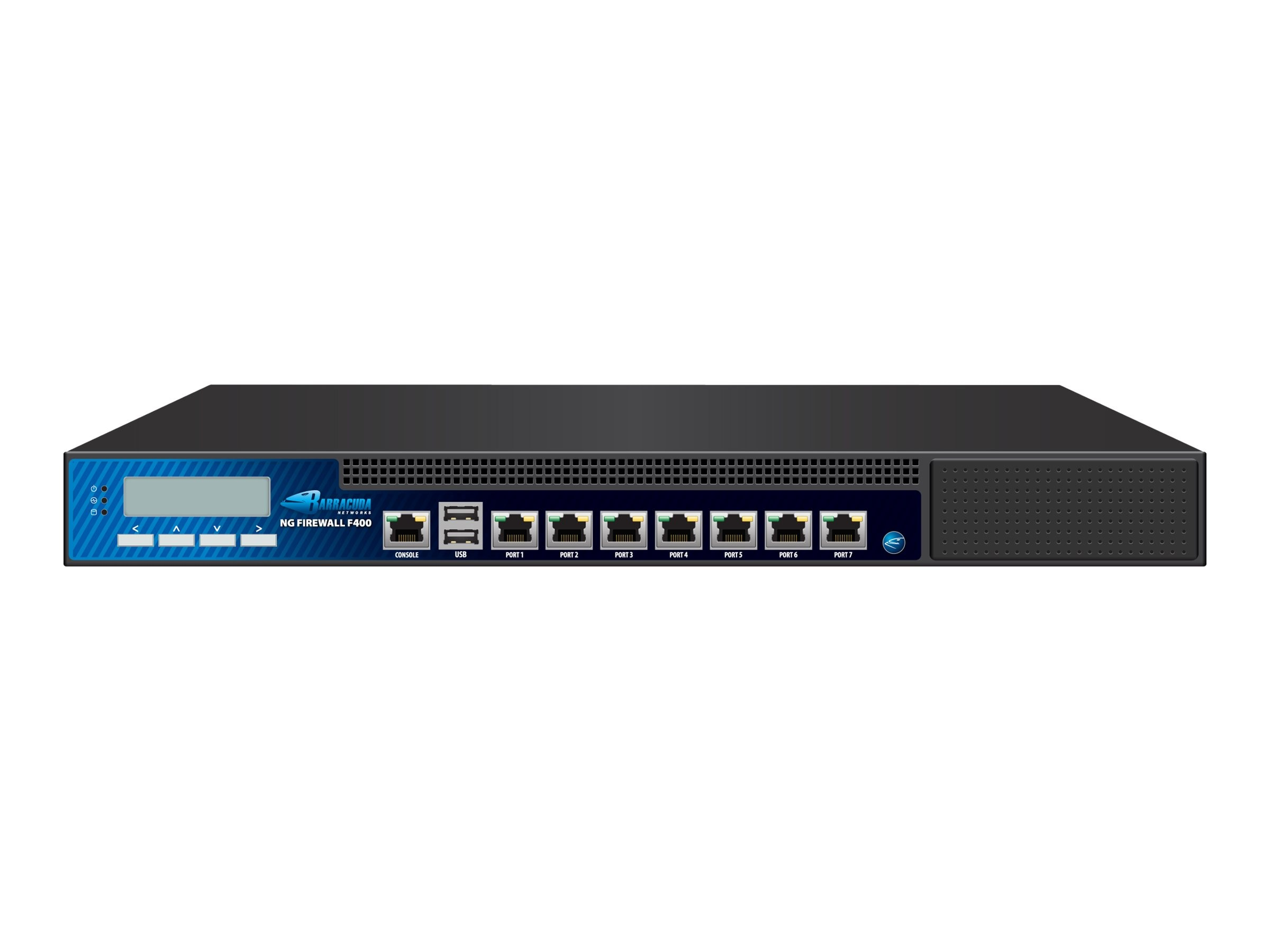 Barracuda NG Firewall F400 with 5 Year Energize Updates, BNGF400A5, 13470861, Network Firewall/VPN - Hardware