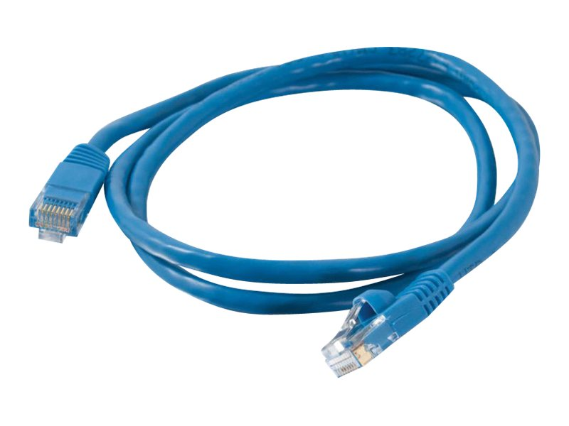 C2G Cat5e Snagless Unshielded (UTP) Network Patch Cable, Blue, 10ft, 15200, 222436, Cables