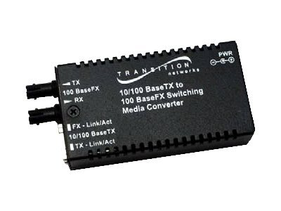 Transition Mini 10 100BASETX TO 100BASEFX Switch, M/E-PSW-FX-01(SC)-UK, 17576911, Network Transceivers