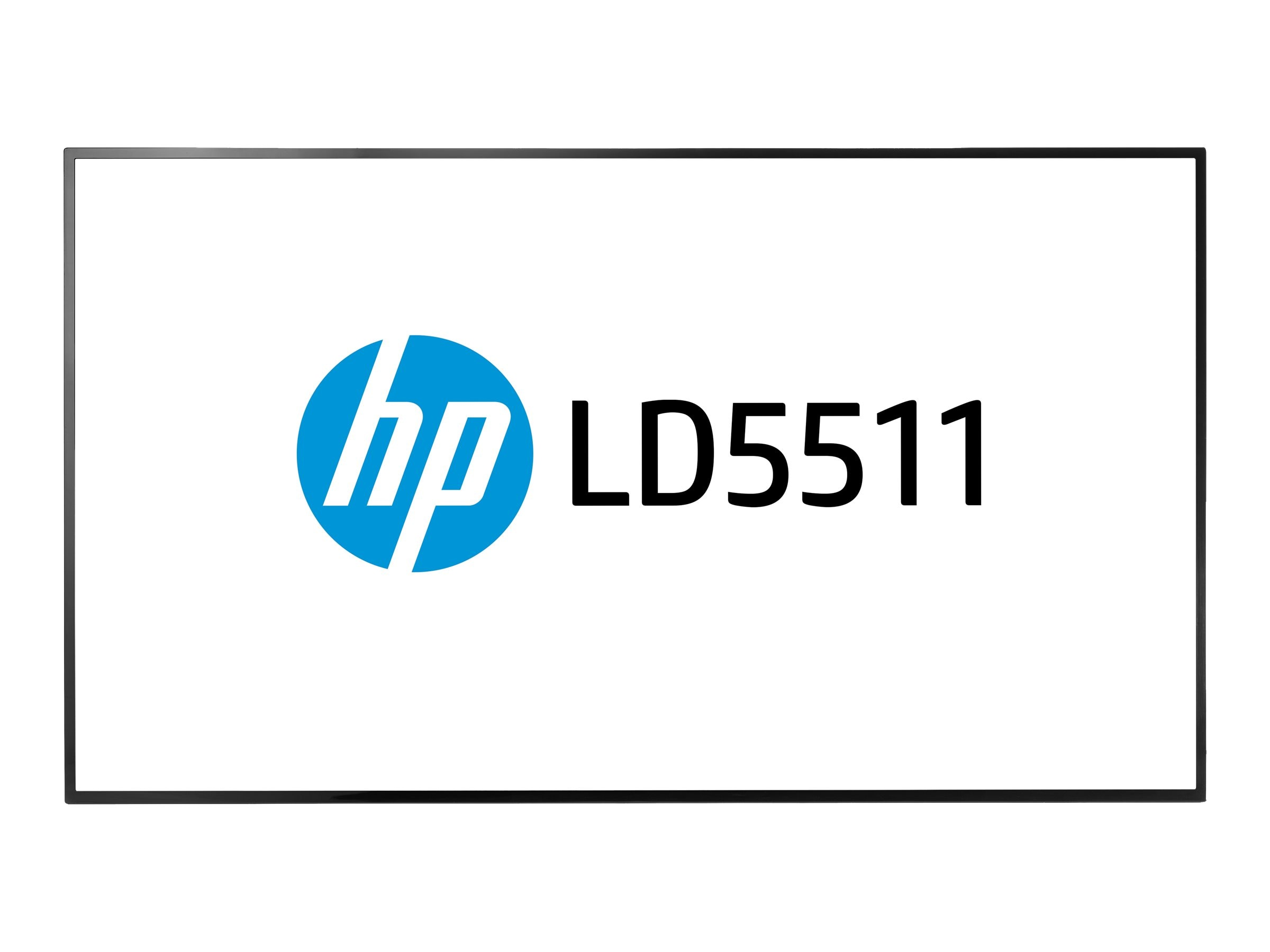 HP 54.6 LD5511 Full HD LED-LCD Display, Black