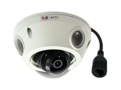 Acti 2MP Extreme WDR Day Night Outdoor Mini Dome Camera, E933