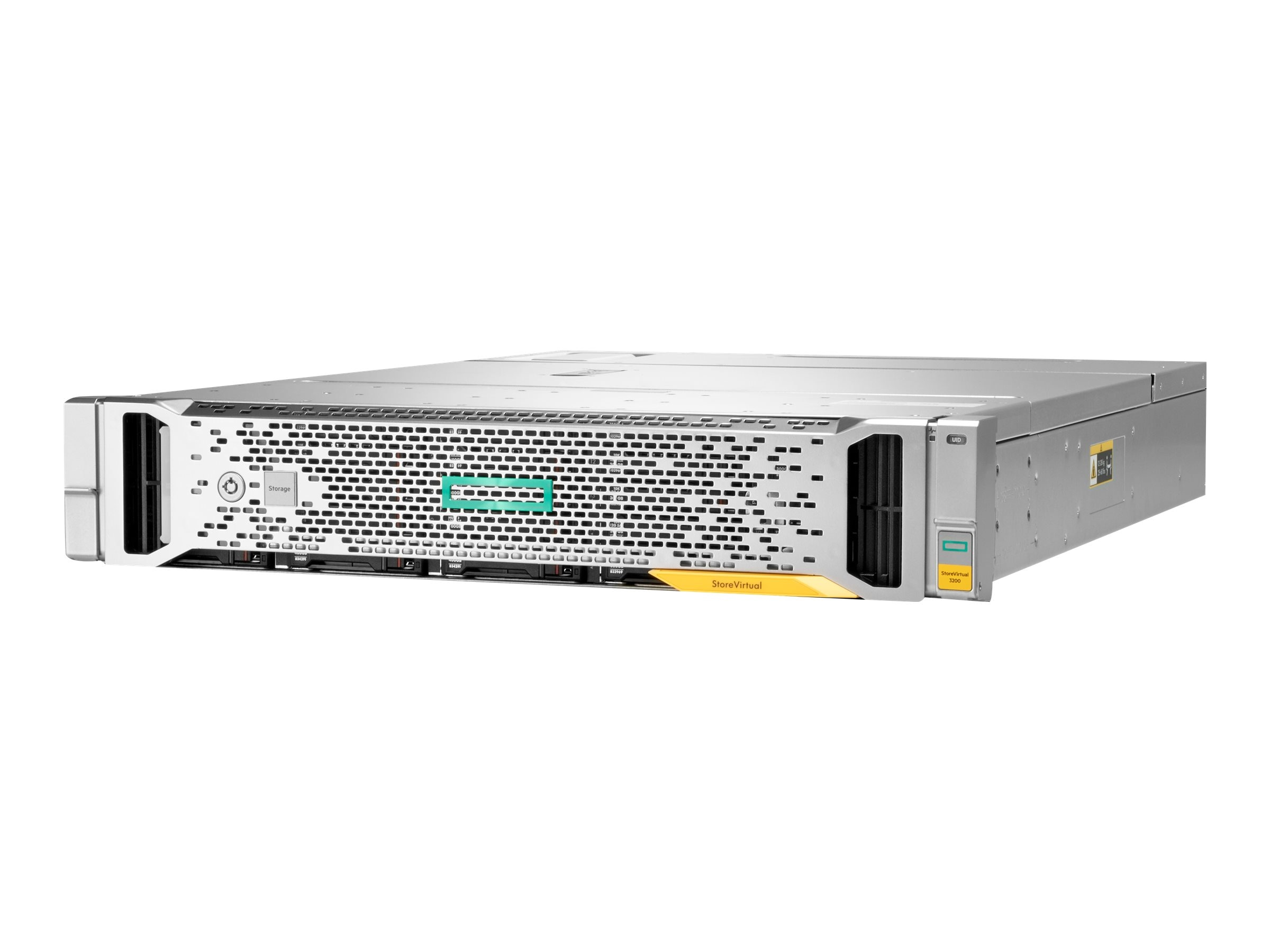 HPE StoreVirtual 3200 4-port 1GbE iSCSI 600GB SFF Storage Bundle
