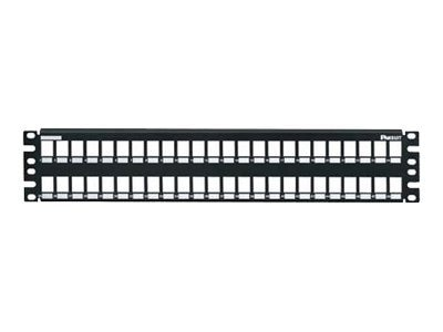 Panduit NetKey 48 Position Modular Patch Panel, NKMP48Y, 9456186, Patch Panels