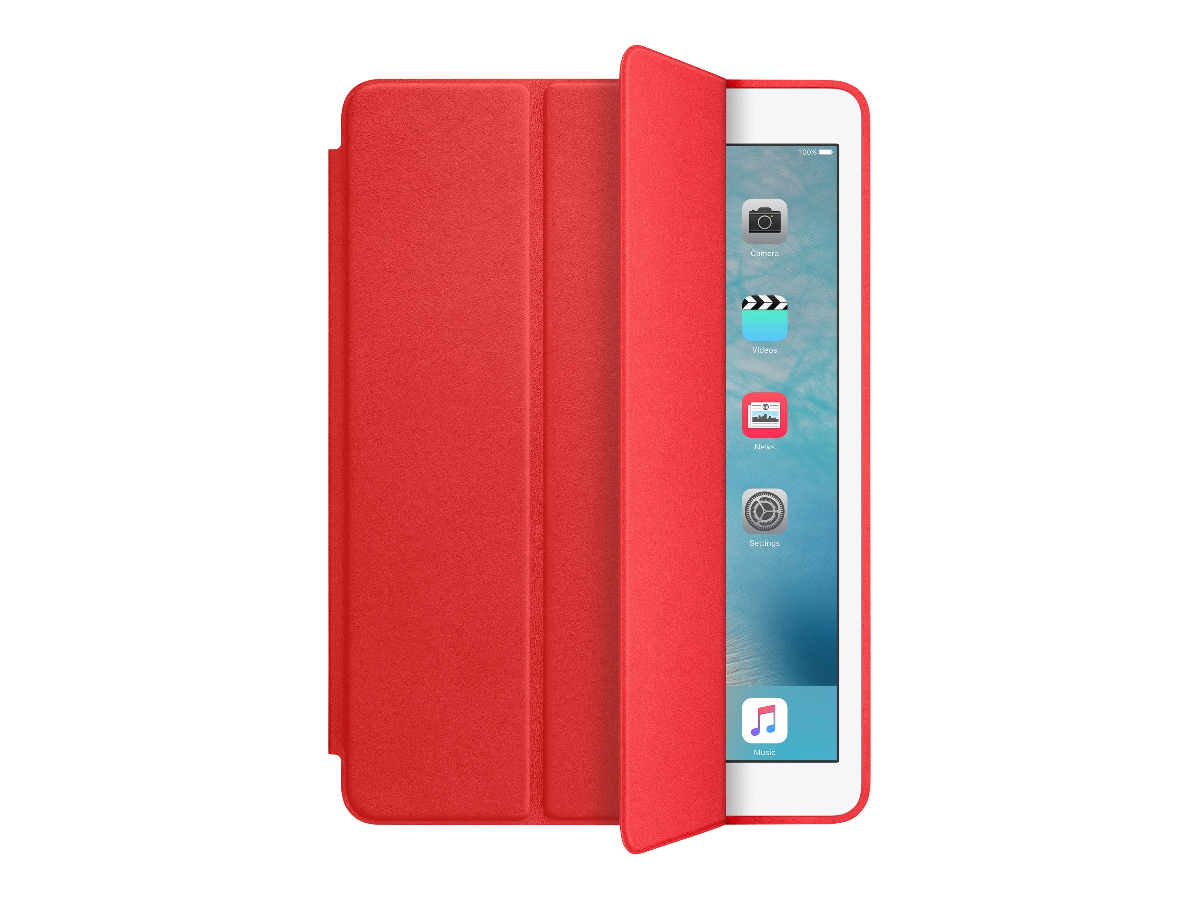 Apple iPad Air 2 Smart Case, Red
