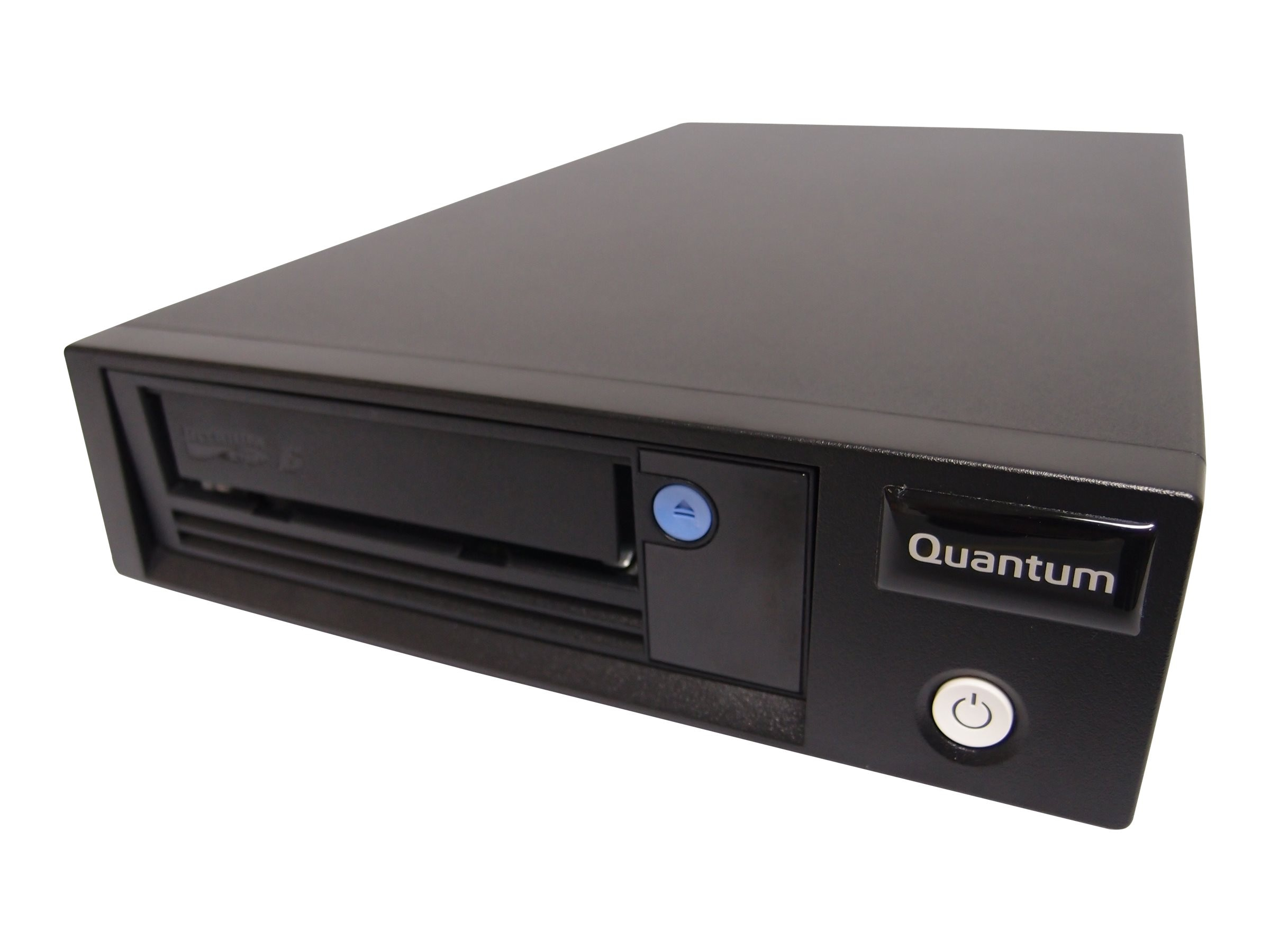 Quantum LTO-6 HH SAS 6Gb s Model C Tabletop Tape Drive - Black