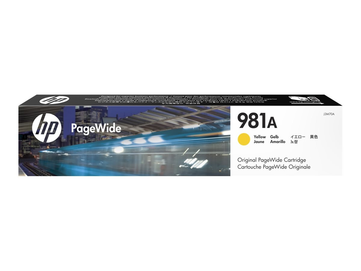 HP 981A (J3M70A) Yellow Original PageWide Cartridge