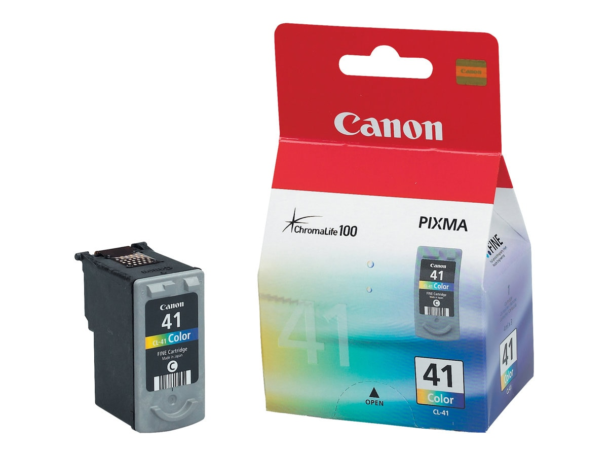Canon Color CL-41 Ink Tank for PIXMA iP1600 & PIXMA MP170 Printers, 0617B002