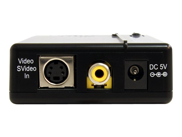 StarTech.com Composite and S-Video to VGA Video Scan Converter, VID2VGATV2