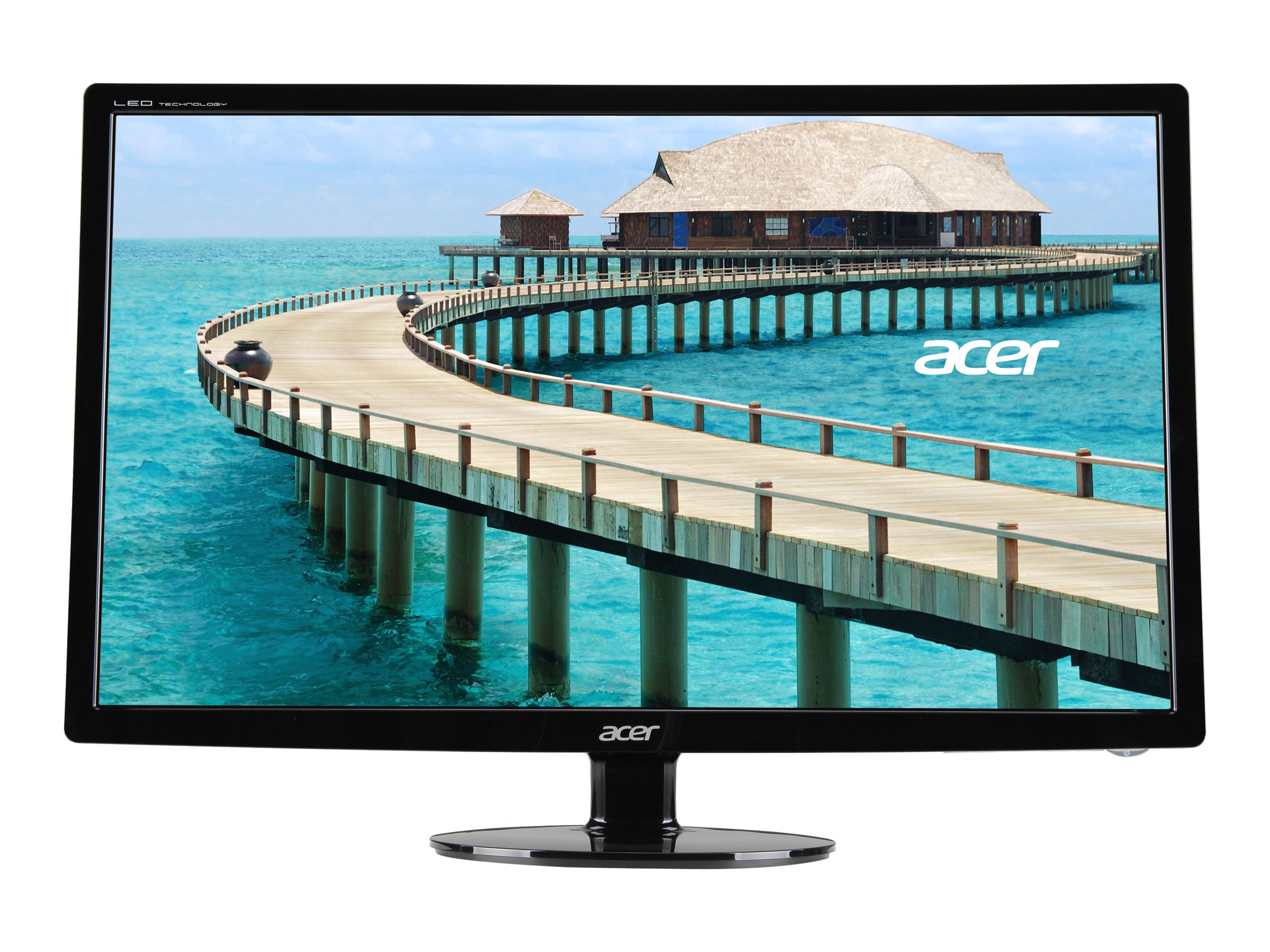 Acer 24 S241HL BMID LED-LCD Monitor, Black