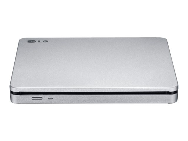 LG 8X Ultra Slim DVD-RW USB External Drive - Black, GP70NS50
