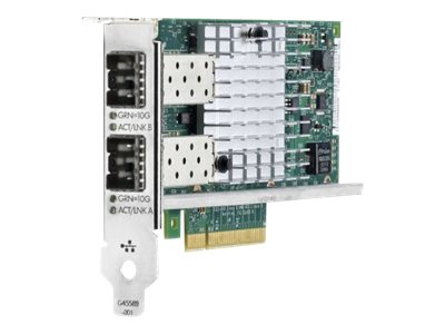HPE Ethernet 10Gb 2-port 560SFP+ Adapter, 665249-B21, 14652341, Network Adapters & NICs