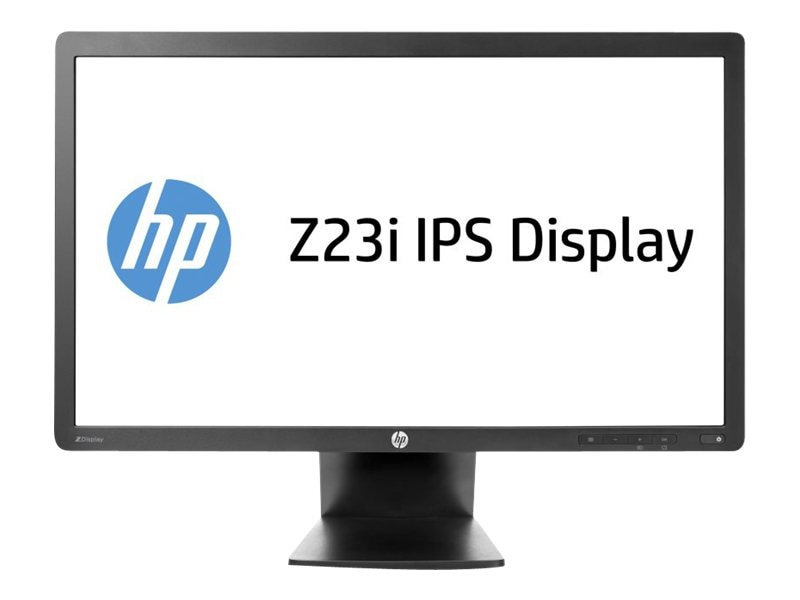 HP 23 Z23i LED-LCD Full HD Monitor, Black, D7Q13A8#ABA, 16068544, Monitors - LED-LCD