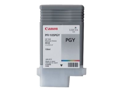 Canon Photo Gray PFI-105 Ink Tank, 3010B001, 11225811, Ink Cartridges & Ink Refill Kits