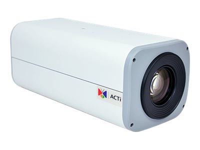 Acti 2MP Zoom Box with D N, Basic WDR, SLLS, 10x Zoom Lens, B25