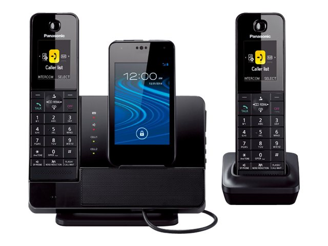 Panasonic Link to Cell Cordless Phone, KX-PRD262B, 20215130, Telephones - Consumer