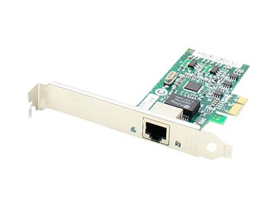 ACP-EP 10 100 1000Mbs Single Open RJ-45 Port 100m PCIe x4 NIC Dell 430-3821, 430-3821-AO