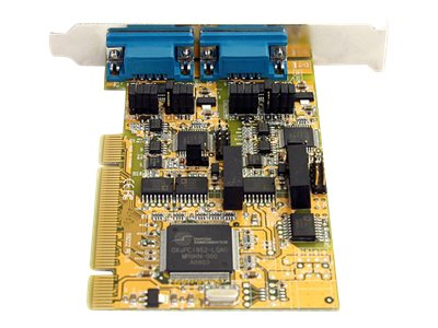 StarTech.com 2-Port RS232 422 485 PCI Serial Adapter Card with ESD Protection, PCI2S232485I