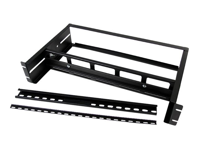 StarTech.com Adjustable Rack Mount DIN Rail Kit with Top Hat Mini G Rails, ADJDINKIT, 11605267, Rack Mount Accessories